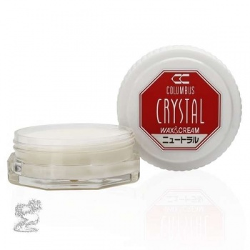 Воск нейтральный для обуви Columbus Crystal Wax&Cream, 35 ml фото 46554