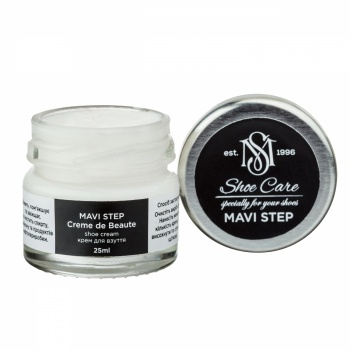 Крем для обуви нейтральный Франция MAVI STEP Creme de Beaute